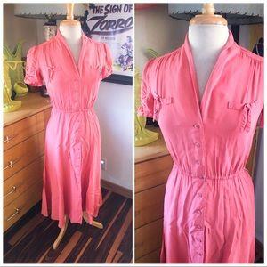 Vintage 1930s Style Dress Rockabilly 1940s